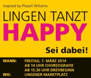 Lingen tanzt HAPPY_Facebook