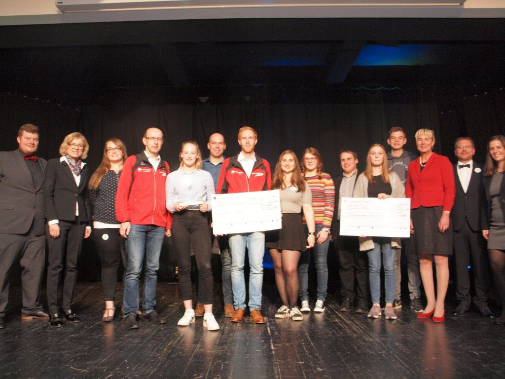 Gewinner des Jugendförderpreises 2018